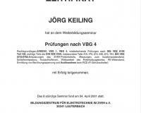 Prüfung nach VBG4
