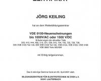 Qualifikation VDE 0100