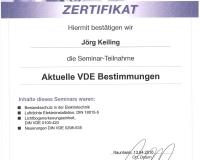VDE- Bestimmungen, 2016