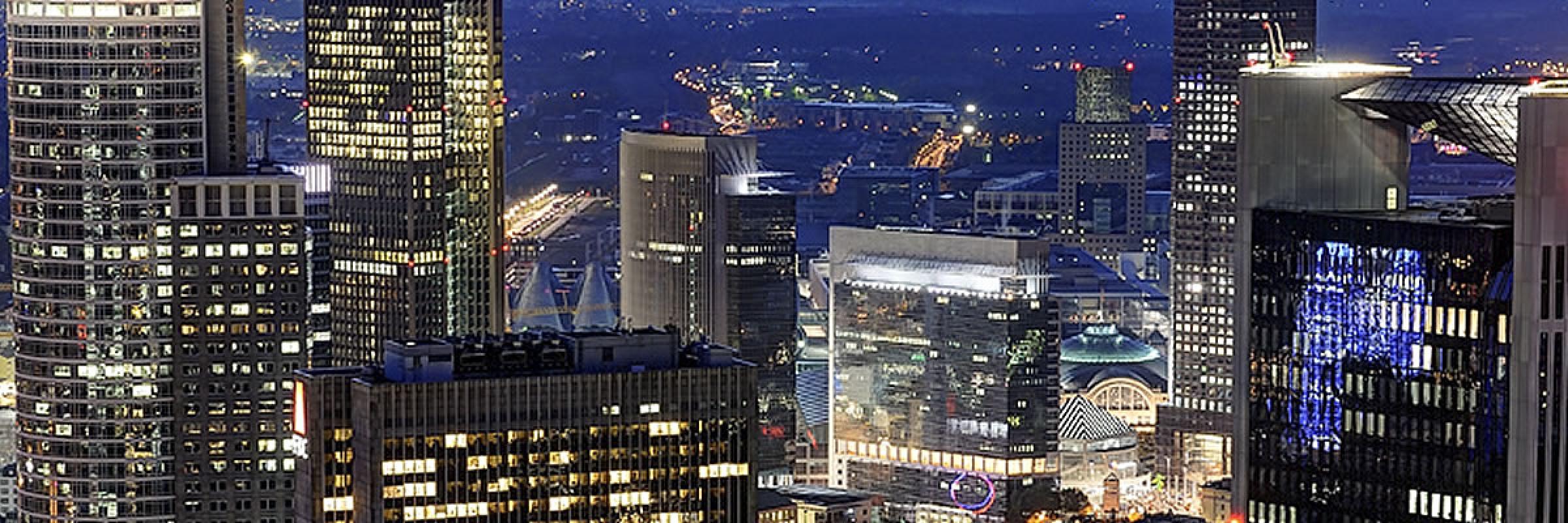 Frankfurt am Main, Beleuchtung bei Nacht
