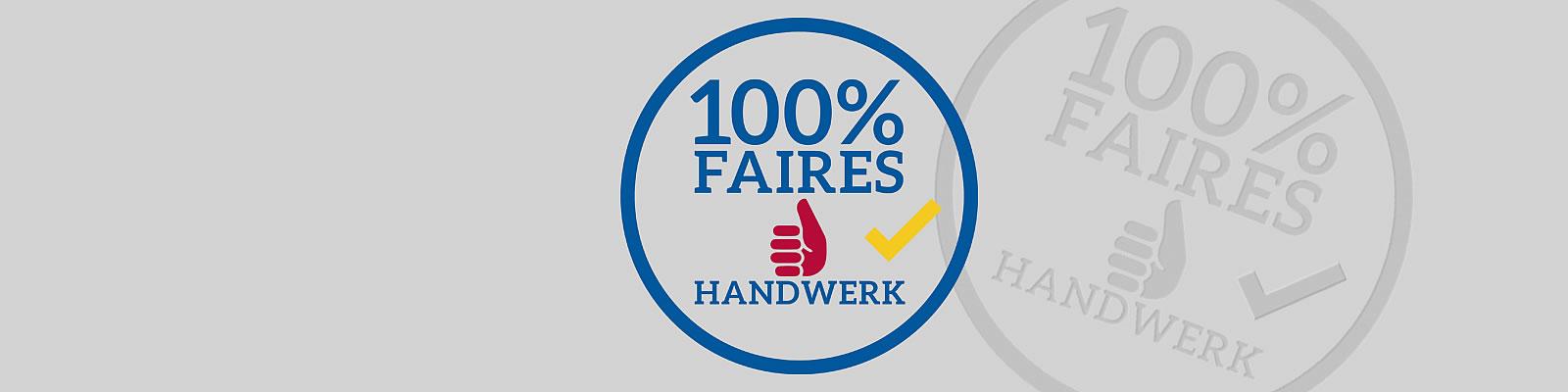 Initiative Faires Handwerk, wir sind dabei